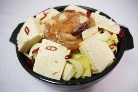 豚ホルモン鹿角風醤油味
